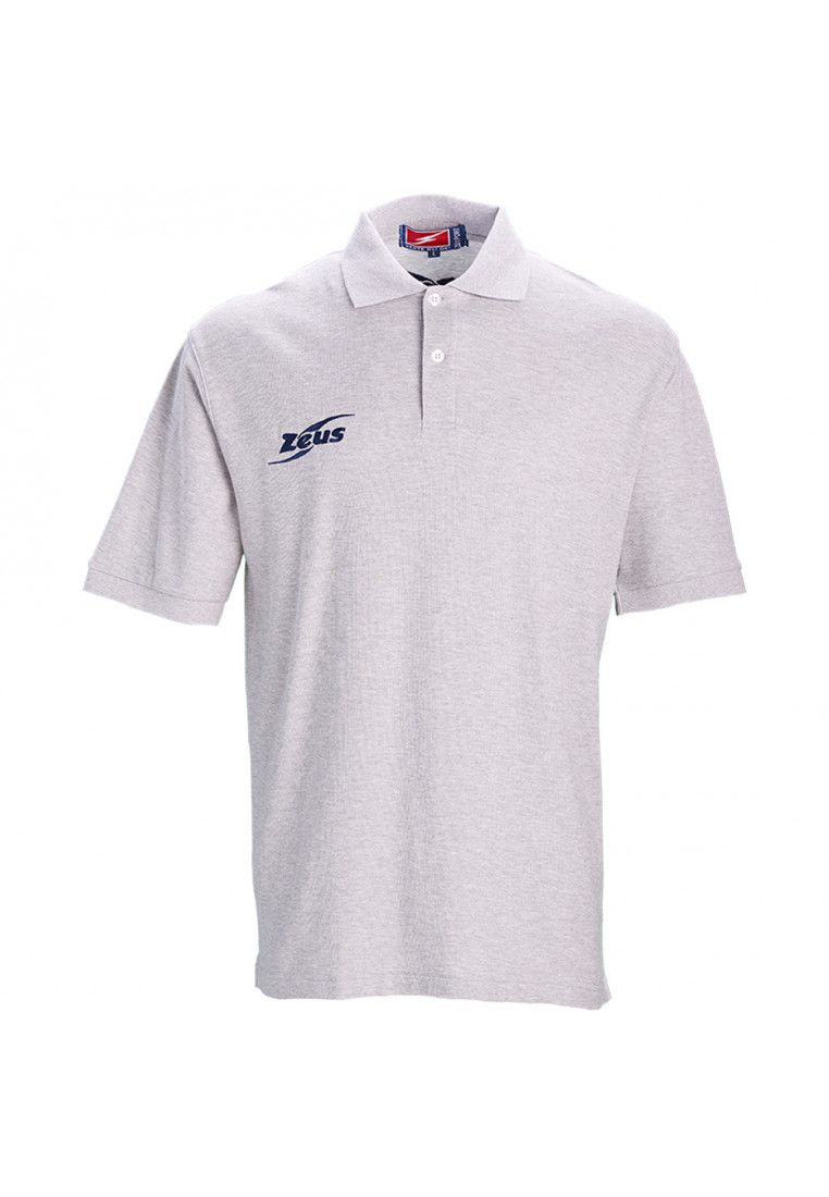 Тенниска Zeus POLO BASIC OLD M/C GRIG Z00374
