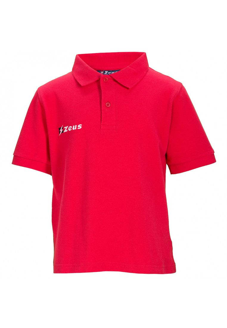 Тенниска Zeus POLO BASIC OLD M/C ROSSO Z00375