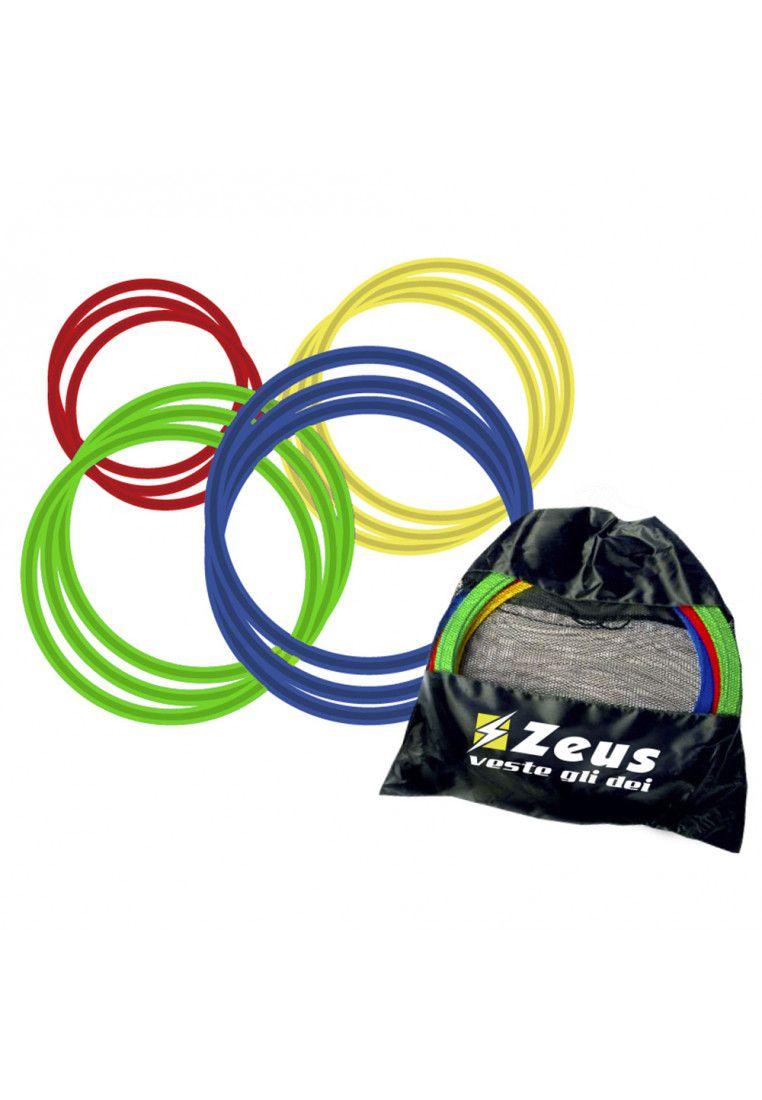 Кольца для развития координации Zeus SET CERCHI PVC 60 CM PIATTI 12 PZ (Комплект,12 штук) Z00383