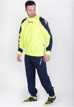 Спортивный костюм Zeus TUTA SHOX NE/BI Z00956 Спортивный костюм (+ шорты) Zeus TRIS TKS + BERMUDA NAPOLI BL/FL Z0039..