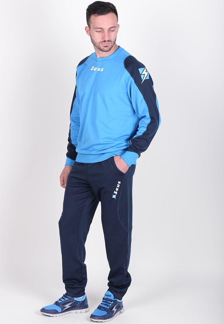 Спортивный костюм (+ шорты) Zeus TRIS TKS + BERMUDA NAPOLI BL/LR Z00394