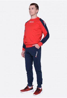 Спортивный костюм (+ шорты) Zeus TRIS TKS + BERMUDA NAPOLI RE/BL Z0039..