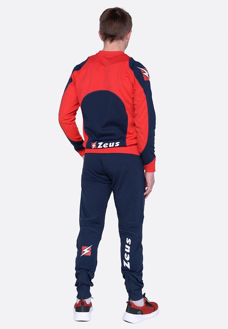 Спортивный костюм (+ шорты) Zeus TRIS TKS + BERMUDA NAPOLI RE/BL Z00395