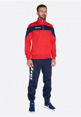 Спортивный костюм Zeus TUTA MARTE VF/NE Z00455 Спортивный костюм Zeus TUTA APOLLO RE/BL Z00416