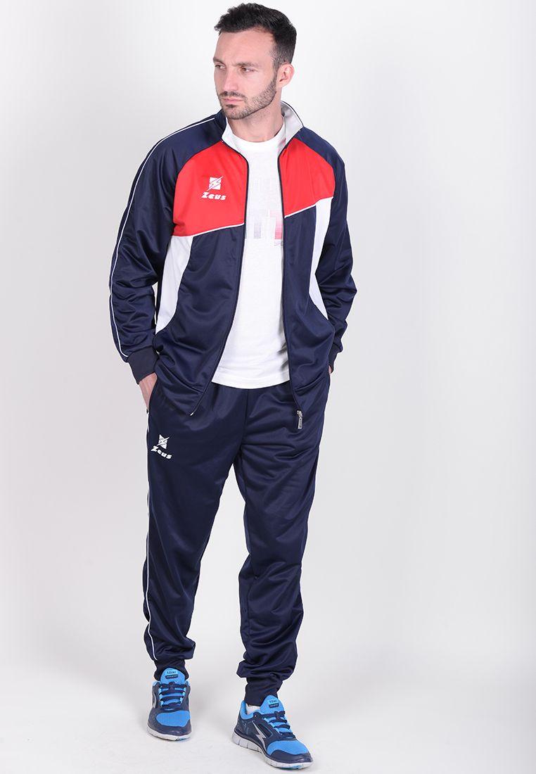 Спортивный костюм Zeus TUTA DEKA BL/RE Z00425