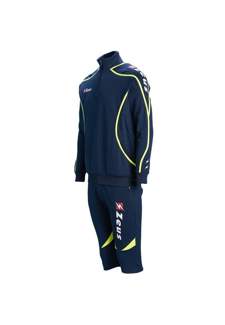 Спортивный костюм (брюки 3/4) Zeus TUTA VIKY BL/GI Z00472
