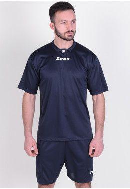 Футболка футбольная Zeus SHIRT MIDA TQ/BI Z01241 Футбольная форма (шорты, футболка) Zeus KIT PROMO BLU Z00498