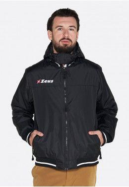 Футбольная форма (шорты, футболка) Zeus KIT LYBRA UOMO BL/LR Z00234 Куртка Zeus GIUBBOTTO COLLEGE NERO Z00506