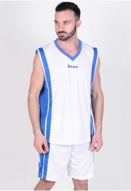 Баскетбольная форма Zeus KIT DOBLO BL/BI Z00681 Баскетбольная форма Zeus KIT BOZO BI/RO Z00507