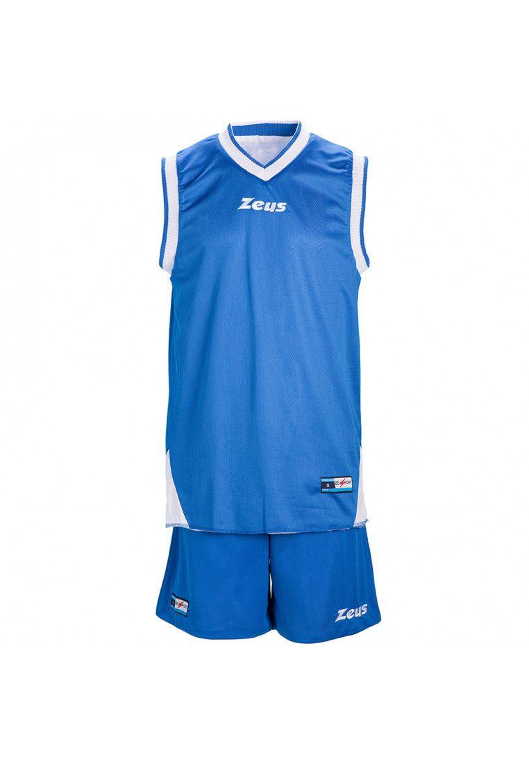 Баскетбольная форма Zeus KIT DOBLO RO/BI Z00508