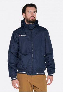 Футбольная форма (шорты, футболка) Zeus KIT LYBRA UOMO BL/LR Z00234 Куртка Zeus GIUBBOTTO COLLEGE BLU Z00524