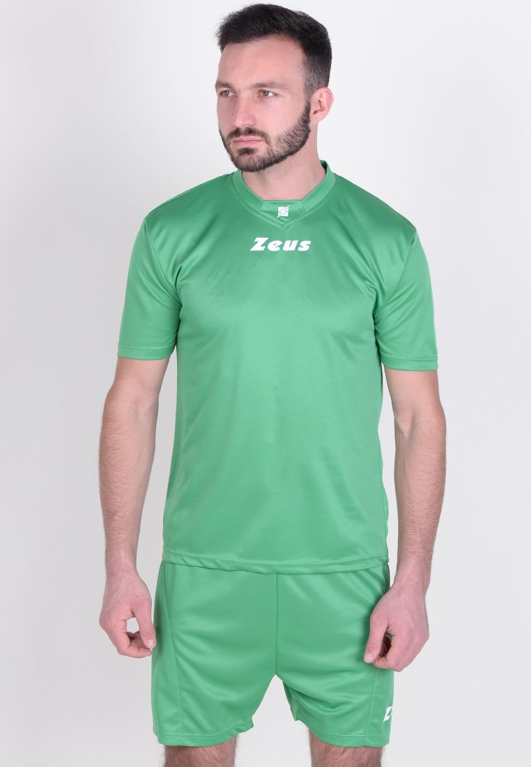 Футбольная форма (шорты, футболка) Zeus KIT PROMO VERDE Z00529