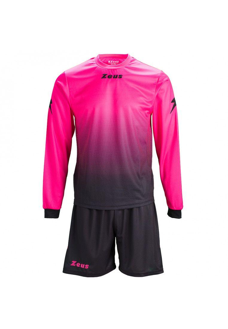 Футбольная форма (шорты, футболка длинный рукав) Zeus KIT EROS FX/NE Z00545