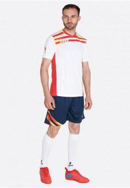 Футбольная форма (шорты, футболка) Zeus KIT ITACA UOMO BI/RE Z00546