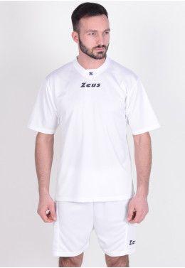 Футбольная форма Футбольная форма (шорты, футболка) Zeus KIT PROMO BIANC Z00577