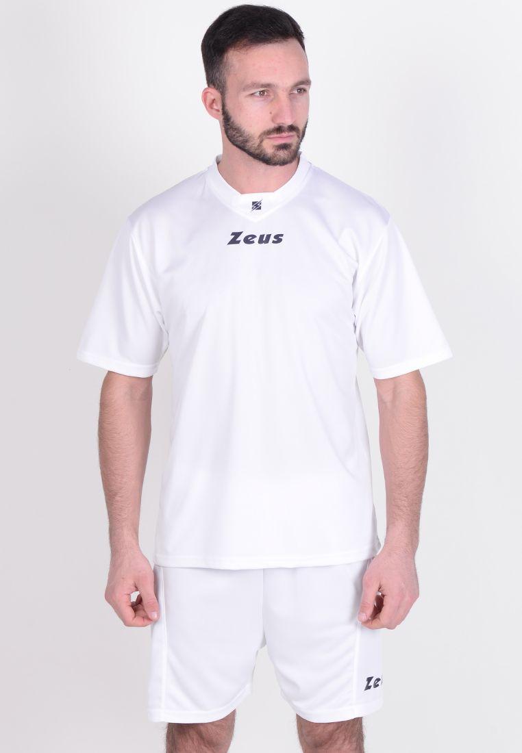 Футбольная форма (шорты, футболка) Zeus KIT PROMO BIANC Z00577