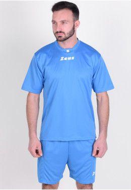 Футбольная форма (шорты, футболка длинный рукав) Zeus KIT ULYSSE M/L RO/BL Z00301 Футбольная форма (шорты, футболка) Zeus KIT PROMO ROYAL Z00578