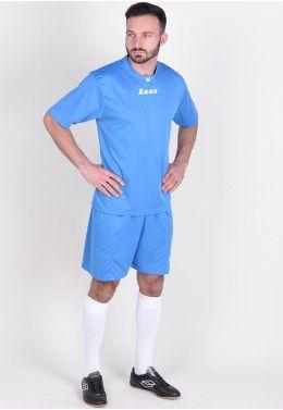 Футбольная форма (шорты, футболка) Zeus KIT AQUARIUS RE/BI Z00189 Футбольная форма (шорты, футболка) Zeus KIT PROMO ROYAL Z00578