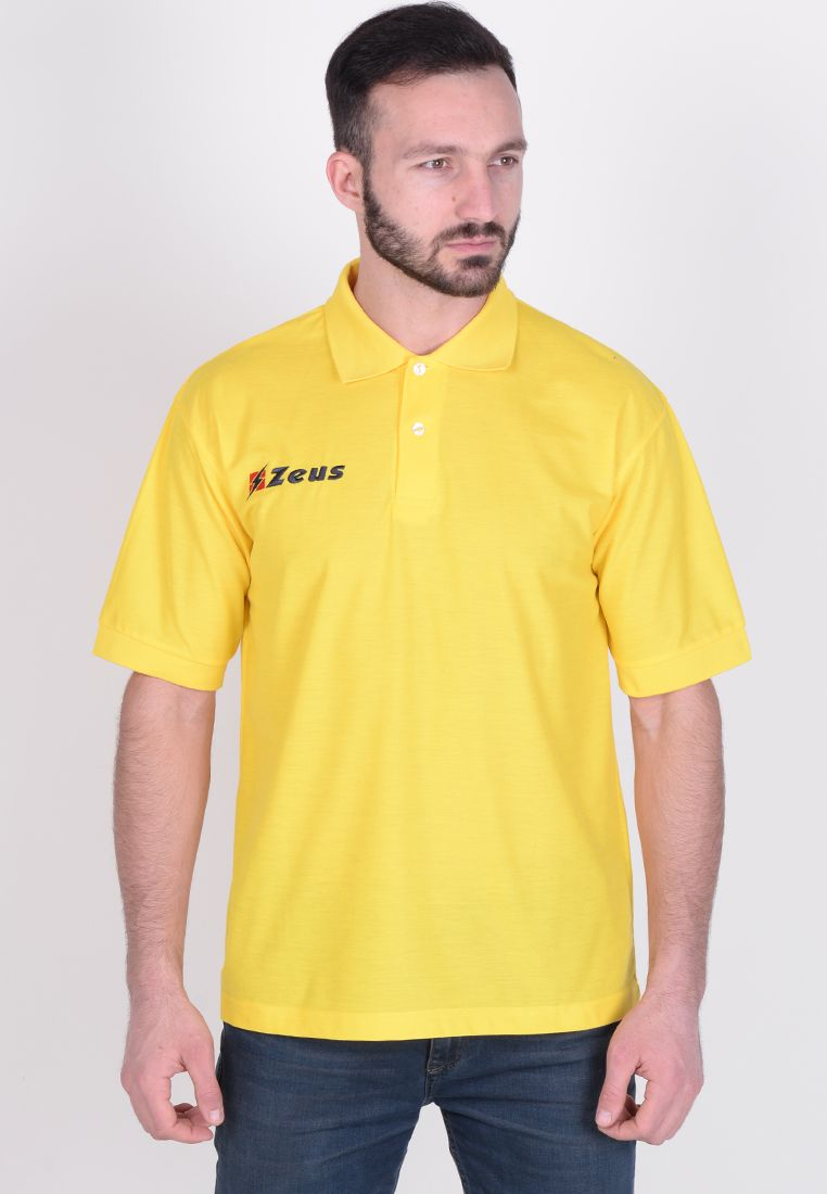 Тенниска Zeus POLO BASIC M/C GIALL Z00587