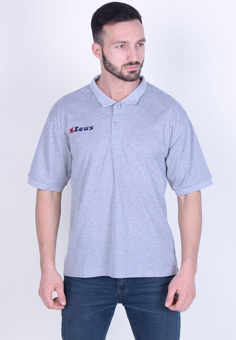 Тенниска Zeus POLO BASIC M/C GRIG Z00588