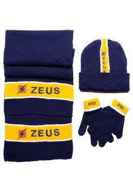 Набор (шапка, шарф, перчатки) Zeus TRIS WINTER BL/RO Z00953 Набор (шапка, шарф, перчатки) Zeus TRIS WINTER BL/GI Z00611