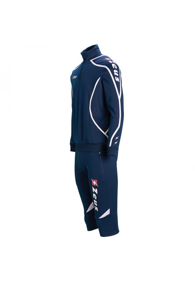 Спортивный костюм (брюки 3/4) Zeus TUTA VIKY BL/BI Z00641