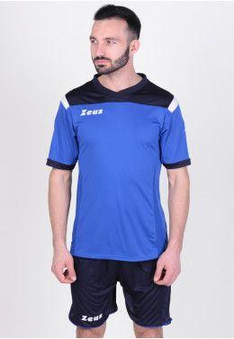 Гетры Zeus CALZA UNITED BL/RO Z00074 Футбольная форма (шорты, футболка) Zeus KIT VESUVIO BL/RO Z00647
