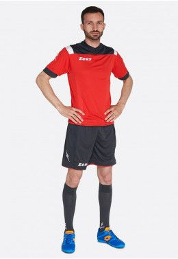 Футбольная форма (шорты, футболка) Zeus KIT LYBRA UOMO AR/BL Z00231 Футбольная форма (шорты, футболка) Zeus KIT VESUVIO RE/DG Z00648