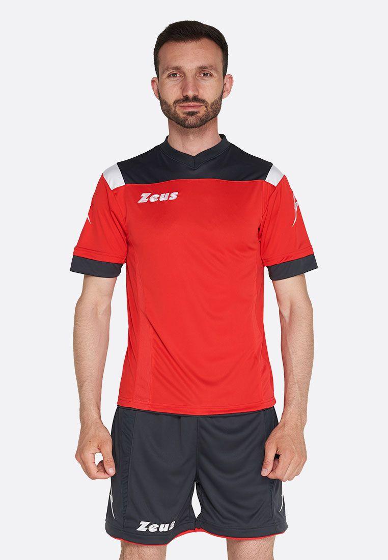 Футбольная форма (шорты, футболка) Zeus KIT VESUVIO RE/DG Z00648