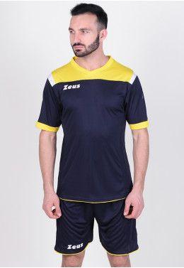 Гетры Zeus CALZA ENERGY ROSSO Z00057 Футбольная форма (шорты, футболка) Zeus KIT VESUVIO BL/GI Z00660
