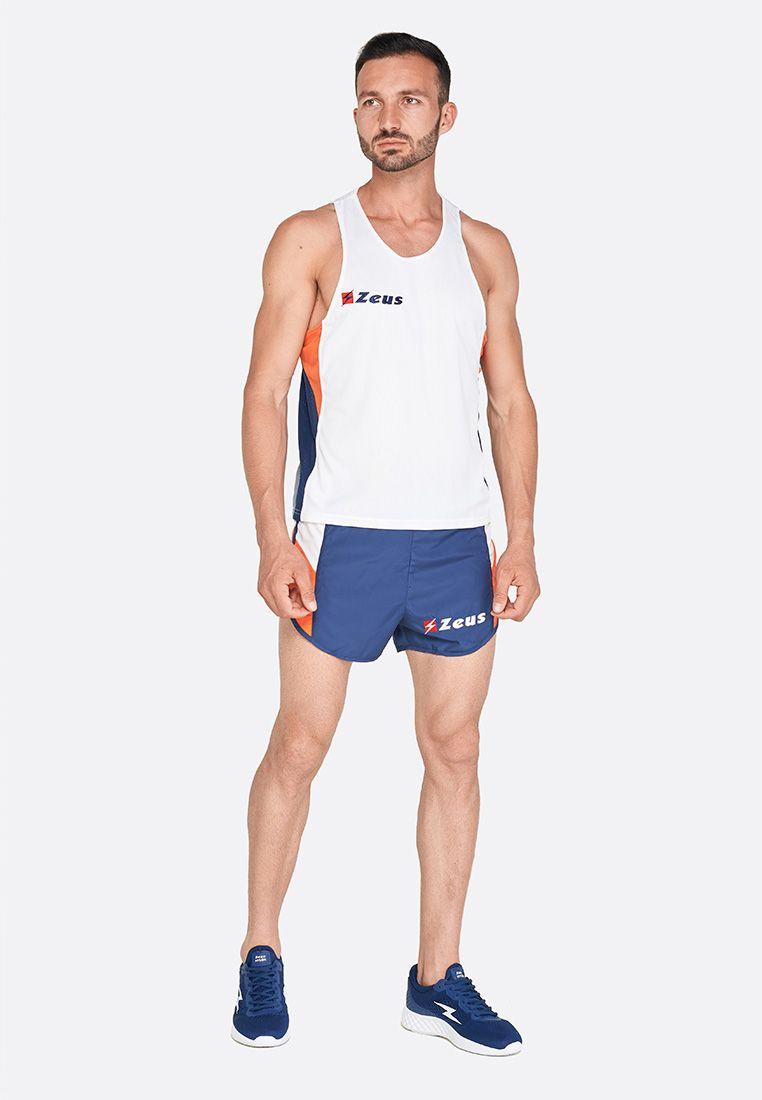 Майка для бега (+ шорты) Zeus KIT BRUNO AR/BL Z00676