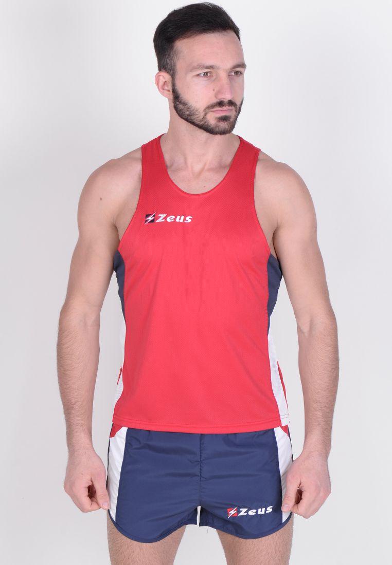 Майка для бега (+ шорты) Zeus KIT BRUNO RE/BL Z00679
