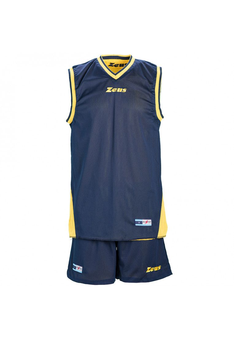 Баскетбольная форма Zeus KIT DOBLO BL/GI Z00682