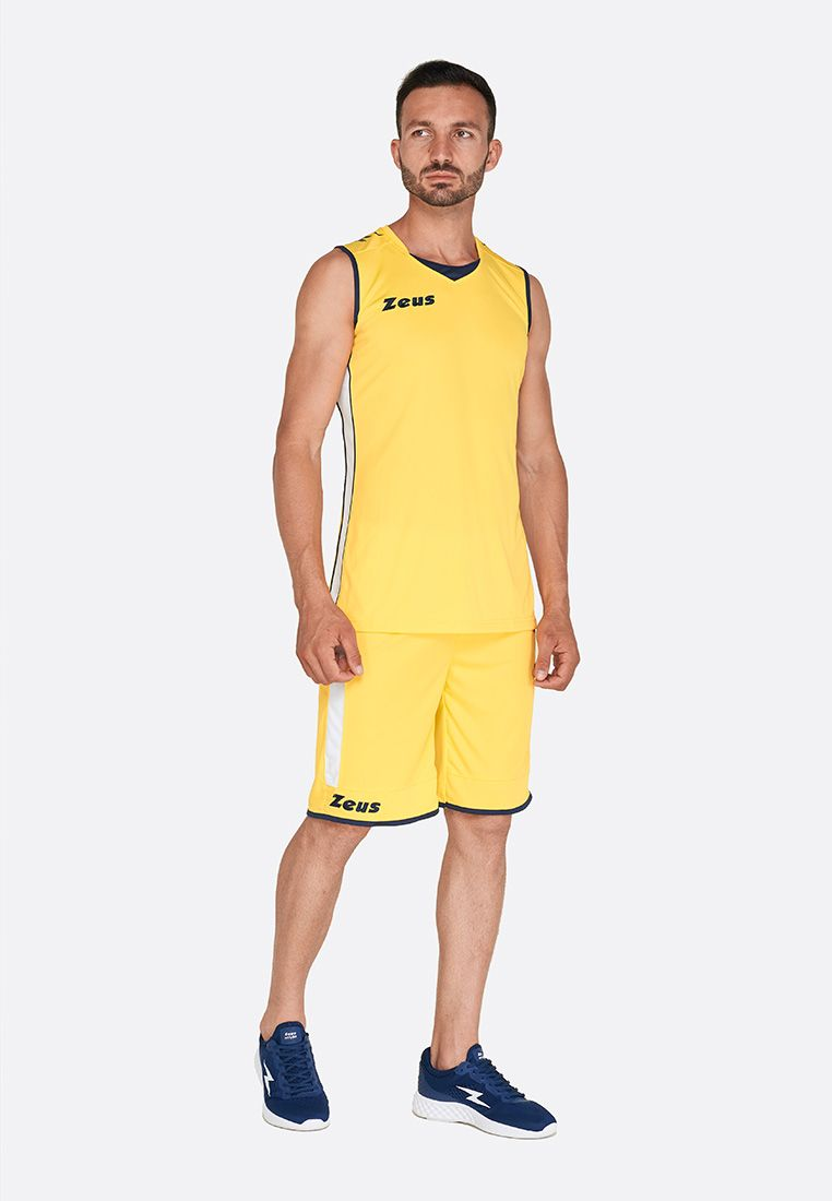 Баскетбольная форма Zeus KIT FLORA GI/BL Z00686