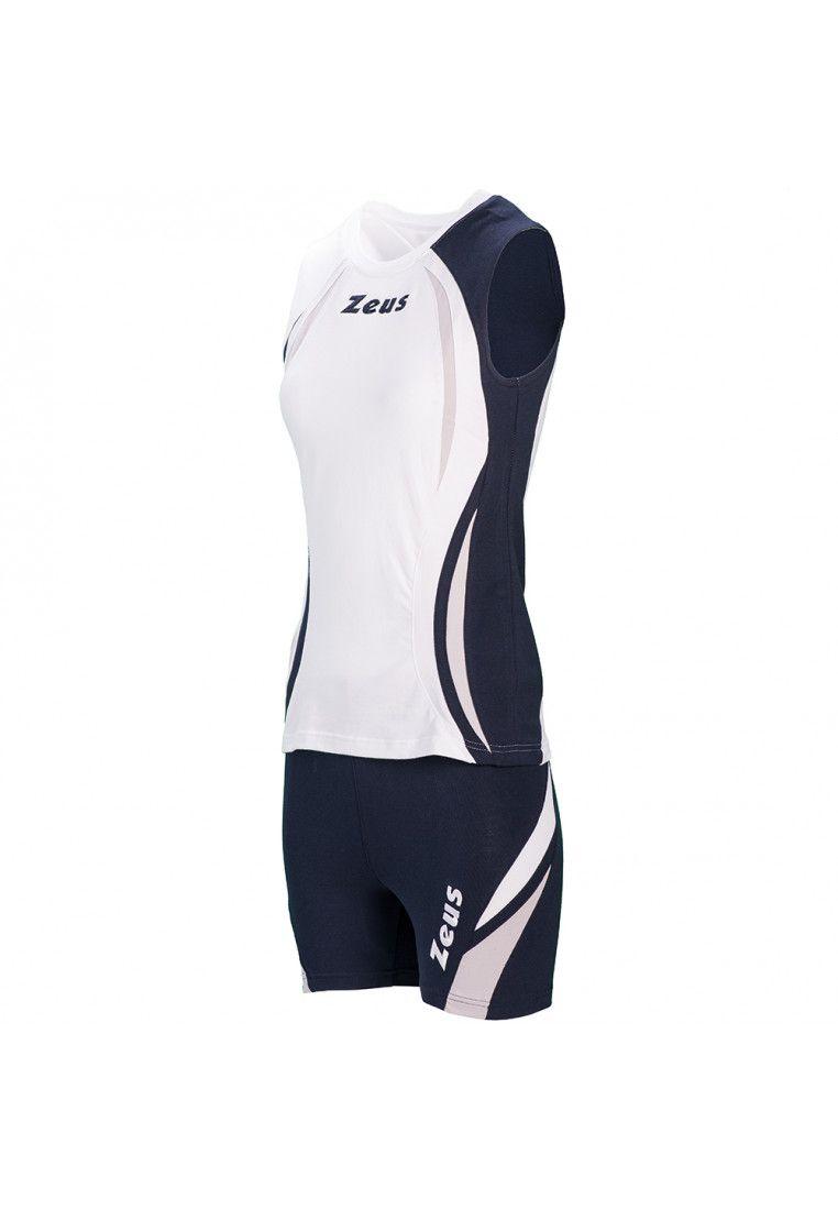 Волейбольная форма (шорты, футболка) Zeus KIT KLIMA BI/BL Z00689