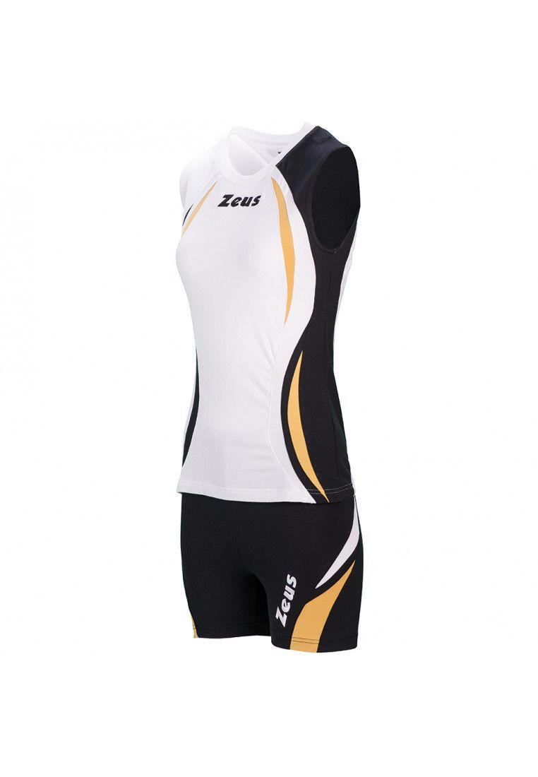 Волейбольная форма (шорты, футболка) Zeus KIT KLIMA BI/NE Z00690