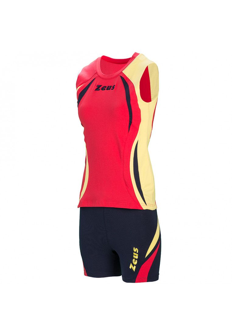 Волейбольная форма (шорты, футболка) Zeus KIT KLIMA RE/BL Z00691