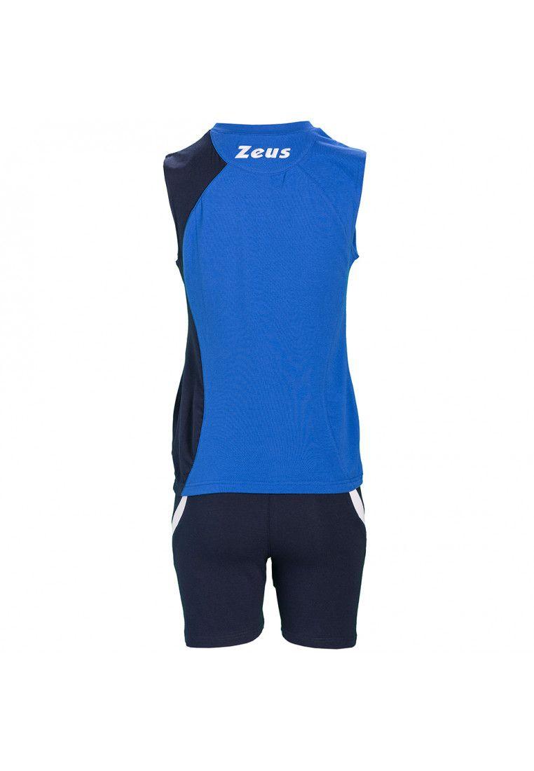 Волейбольная форма (шорты, футболка) Zeus KIT KLIMA RO/BL Z00692