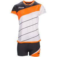Футбольная форма (шорты, футболка) Zeus KIT LYBRA DONNA BI/AR Z00693