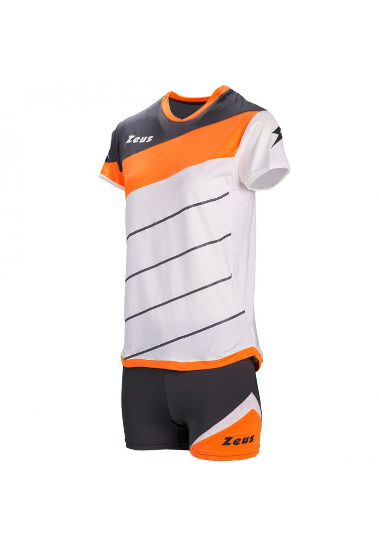 Волейбольная форма (шорты, футболка) Zeus KIT LYBRA DONNA BI/AR Z00693