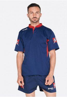 Форма для регби (шорты, футболка) Zeus KIT RUGBY MAX BL/RE Z00697