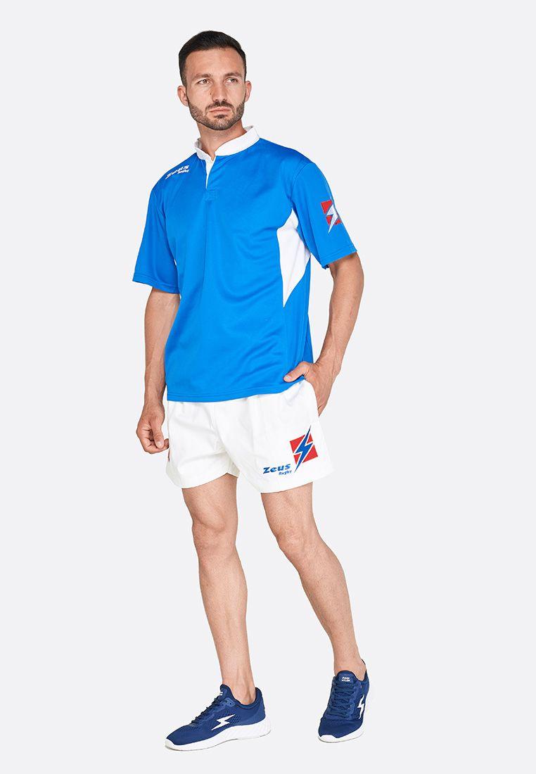 Форма для регби (шорты, футболка) Zeus KIT RUGBY MAX RO/BI Z00698