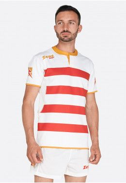Форма для регби (шорты, футболка) Zeus KIT RUGBY RECCO NEW RE/BI Z0070..