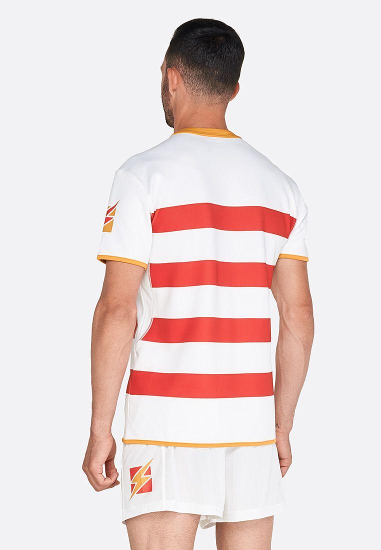 Форма для регби (шорты, футболка) Zeus KIT RUGBY RECCO NEW RE/BI Z00700