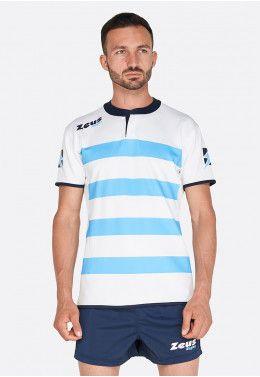 Форма для регби (шорты, футболка) Zeus KIT RUGBY RECCO NEW SK/BI Z0070..