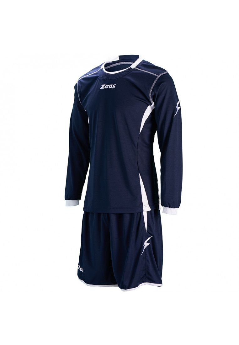 Футбольная форма (шорты, футболка длинный рукав) Zeus KIT SPARTA BL/BI Z00705