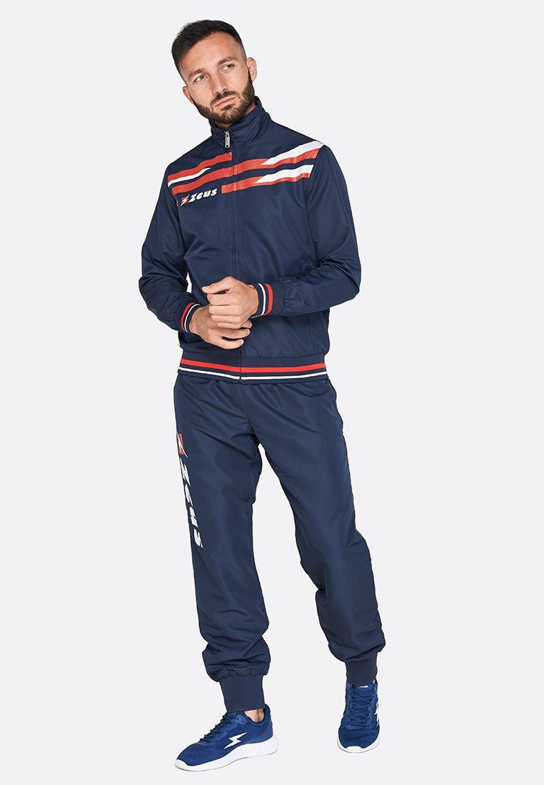 Спортивный костюм Zeus TUTA ITACA BL/RE Z00722