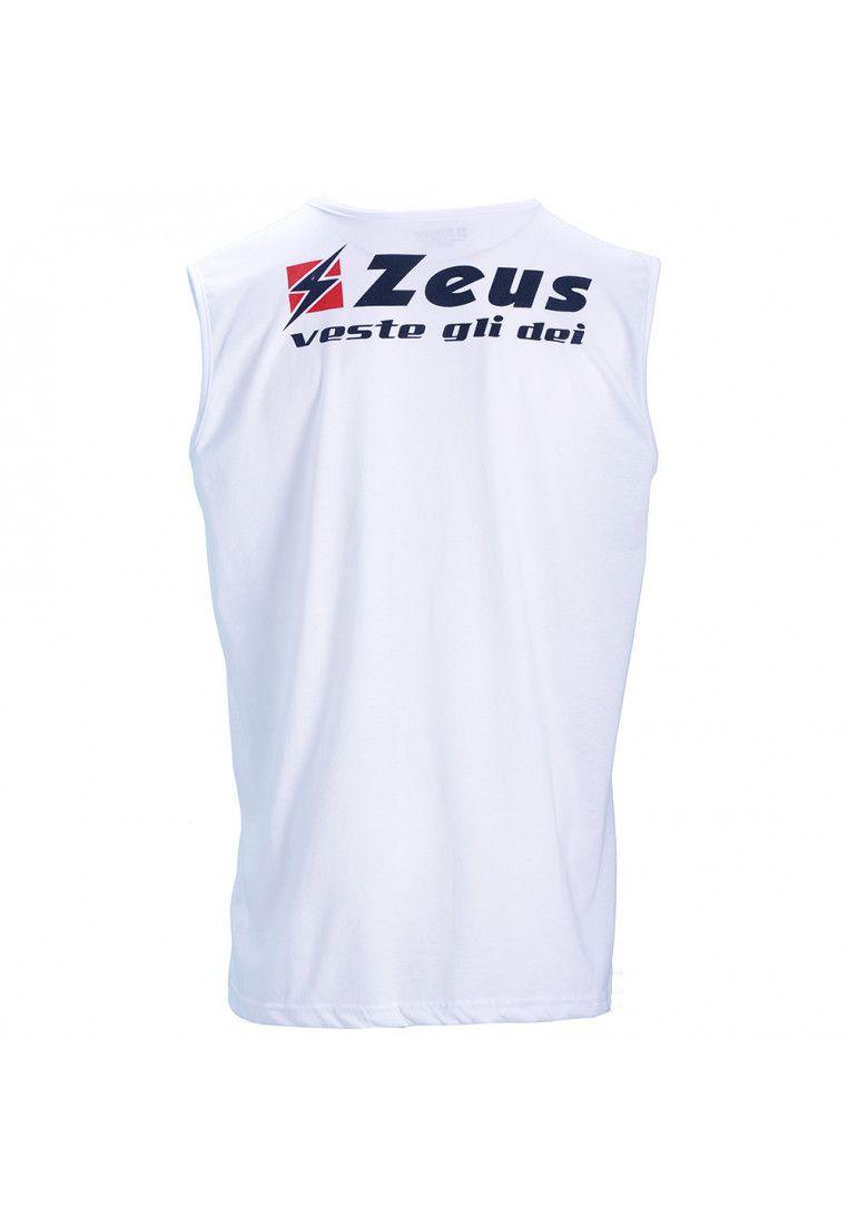 Футболка (без рукавов) Zeus MAGLIA CLIZIA SMANICATA BIANC Z00732