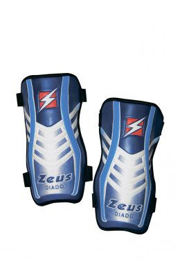 Гетры (короткие) Zeus CALZA SQUARE BLU Z01390 Щитки футбольные Zeus PARASTINCO DIADO Z00738