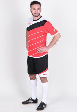 Футбольная форма (шорты, футболка) Zeus KIT LYBRA UOMO RE/NE Z00769